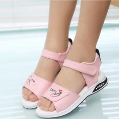 Giày sandal nữ đi học cho bé Dép sandal phong cách Hàn Quốc cho bé gái 3 tuổi đến 10 tuổi