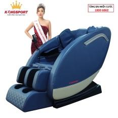 [HOT 2021]Ghế massage Kingsport G74 – ghế massage toàn thân cao cấp, tự động mát xa đa năng, con lăn đảo chiều