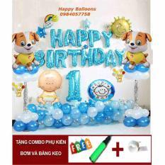 Set trang trí sinh nhật bé cún