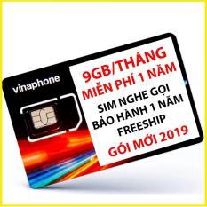 Sim 4G Vinaphone 9GB/tháng 12 tháng không nạp tiền