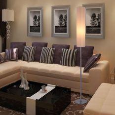 đèn cây đứng trang trí phòng khách, phòng ngủ, đèn sàn tặng BÓNG ĐÈN LED tiết kiệm điện, den cay trang tri sang chanh