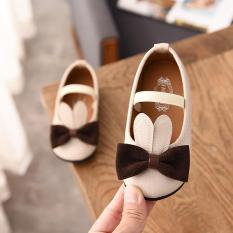 Giày búp bê bé gái nơ tai thỏ B129 Gokichi