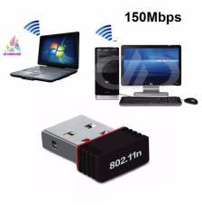 USB Wifi thu wifi cho Laptop Usb thu sóng wifi cho máy tính PC NANO 802 Cung cấp tốc độ không dây lên đến 150Mbps