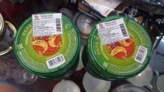 trứng cá hồi nhập khẩu Nga 105g