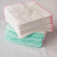 Combo 20 khăn sữa 22x22cm thỏ Kim Ngân