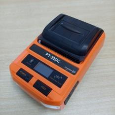 Máy in hóa đơn, in tem nhiệt không dây Bluetooth di động Puty PT-50DC