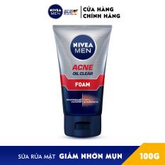 Sữa Rửa Mặt NIVEA MEN Giảm Nhờn Mụn (100G) – 82378