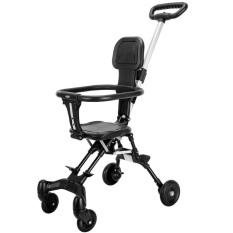 Xe đẩy em bé du lịch gấp gọn đảo chiều siêu nhẹ – V1 qmart