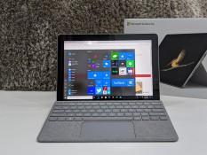 Microsoft Surface Go ram 8GB , SSD 128GB , 2 trong 1 , kèm bàn phím và sạc chính hãng tại Playmobile