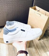 Giày Thể Thao Nam Trắng Da Mịn Đế Siêu Mềm Elmee – Giày Sneaker Trẻ Trung Phong Cách
