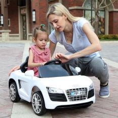 Xe ô tô điện MODEL FEY-5189 có điều khiển từ xa và tự lái cho bé 1-5 tuổi (Hồng, Đỏ, Trắng)