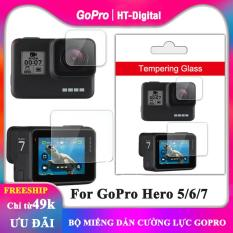 Bộ 2 Miếng Dán Cường Lực Cho GoPro Hero 5 Hero 6 Hero 7
