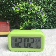 Đồng hồ báo thức điện tử kỹ thuật số để bàn với đèn LED nền cảm biến đa chức năng LC01 Do Choi PC (Hà Nội)