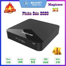 Android Tivi Box Magicsee N5 – Rom 2GB, Ram 16GB, Android 9.0 – Hỗ Trợ Tìm Kiếm Bằng Giọng Nói ( Có Rom ATV)