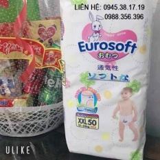 50 miếng Bỉm quần EuroSoft cao cấp xuất Nhật