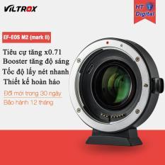 Ngàm Viltrox EF-EOS M2 (mark II) cho Canon EOS M M2 M3 M5 M6 M10 M50 M100