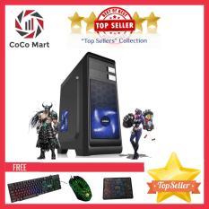 Máy cày Game VIP Core I3 3220, Ram 8GB, SSD 120GB, HDD 2TB, VGA Rời GTX1070 8GB CCM-G3AF+ Bộ Quà Tặng