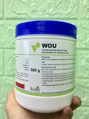 Thức ăn cho chó Wou – bổ sung vitamin, khoáng, canxi cho chó mọi loại chó