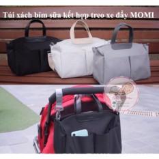 Túi xách bỉm sữa Hàn Quốc(tặng kèm dây đeo xe đẩy)