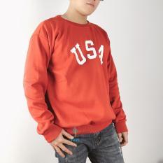 Áo Sweater Nam Cổ Chui In Chữ USA Tạo Cảm Giác Ấm Áp Mà Vẫn Phong Cách owen owen