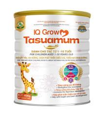TASUAMUM IQ GROW dành cho trẻ từ 1-10 tuổi trẻ gầy yếu, còi xương, chậm phát triển chiều cao, thiếu hụt dinh dưỡng