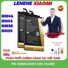 Pin dành cho máy xiaomi chính hãng Lehehe,BM46,BN43,BM3E,BN35