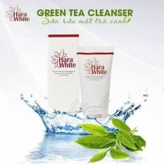 [MUA 1 TẶNG 1] Sữa rửa mặt tinh chất trà xanh ngăn ngừa mụn Hara White Green Tea Cleanser 100ml