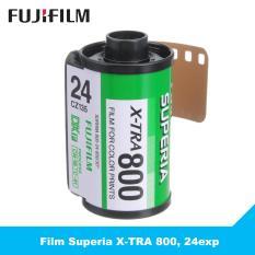 1 cuộn film Fujifilm Superia X-TRA 800, 24exp – Phim chụp ảnh 35mm