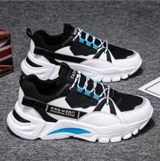 Giày Thể Thao Nam Sneaker Tăng 5Cm Chiều Cao, Đế Tổng Hợp Độ Bền Cao, Kiểu Dáng Cá Tính Cực Ngầu, Xu Hướng 2020 AVISHOP- 344