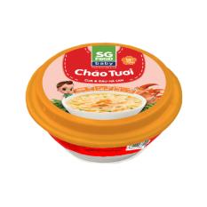 Cháo tươi Baby Sài Gòn Food Cua gấc & Đậu hà lan 240g