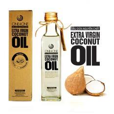 Dầu Dừa Nguyên Chất One4One 250ml – Extra Virgin Coconut Oil