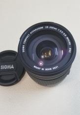 Sigma 28-200 f3.8-5.6