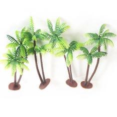 Bộ mô hình 2 cây dừa cao 13cm