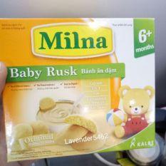 HỘP BÁNH ĂN DẶM MILNA – NHIỀU HƯƠNG VỊ, Bánh Ăn Dặm Milna Cho Các Bé Từ 6 Tháng Tuổi Trở Lên,