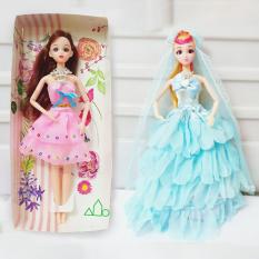 Búp bê Công chúa Elsa và Anna – Búp Bê Công chúa chất liệu nhựa cao cấp, bền, đẹp, chất vải an toàn – Diệp Linh