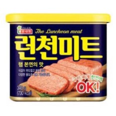 Thịt Hộp Lotte The Luncheon Meat Hàn Quốc 340G