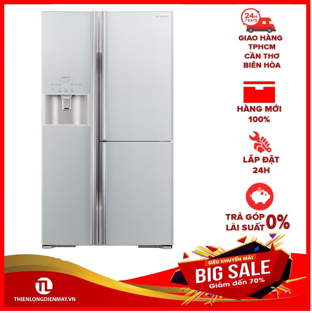 [THU THẬP VOUCHER 1.000K TỪ LZD] Tủ lạnh Hitachi Inverter 584 lít R-FM800GPGV2(GS)
