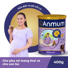 Sữa bột Anmum Materna hương Sô-cô-la 400g