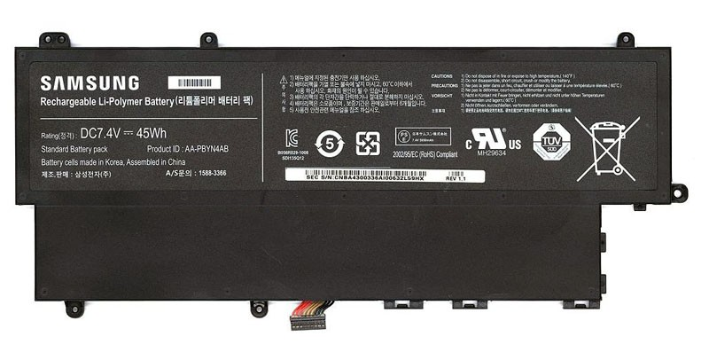 Pin(battery)Originals Laptop Samsung NP530U3C (AA-PBYN4AB)