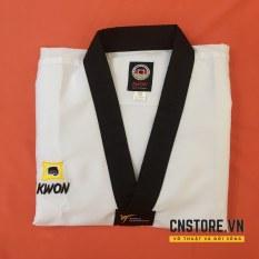 Võ Phục Taekwondo Cổ Đen Kwon Kim Cương Siêu Nhẹ Mát Mẻ