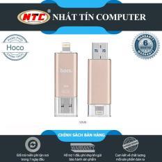 [SALE OFF] USB OTG dành cho iphone/ipad Hoco UD2 dung lượng 32gb – Sử dụng app LUV Share (Vàng đồng)