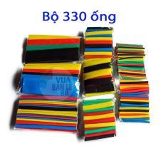 Bộ 330 ống gen co nhiệt nhiều màu