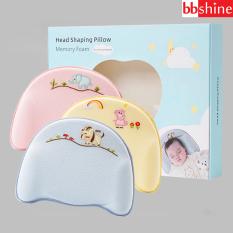 [HCM]Gối cao su non cho bé Gối cho bé sơ sinh chống méo đầu loại cao cấp an toàn cho sự phát triển của bé BBShine – SS018