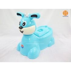 Bô vệ sinh có nhạc, hình con thỏ đáng yêu cho bé – bô vệ sinh cho bé