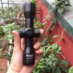[ XẢ KHO 3 NGÀY] Ống ngắm phóng đại 4x30EG, ống ngắm có tâm hồng ngoại hai màu xanh đỏ, có 5 mức chỉnh độ sáng tâm