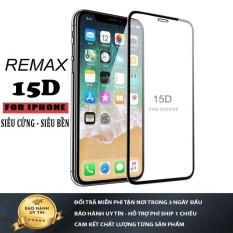 Kính cường lực iphone 15D Full Màn REMAX 6/6plus/6s/6s plus/7/7plus/8/8plus/x/xs/xs max/11/11 pro/11 promax -( Tặng giấy lau kính)