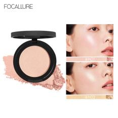 Phấn bắt sáng FOCALLURE dạng nén mịn màng lâu trôi giúp làm sáng nổi bật khuôn mặt với 5 màu tùy chọn – INTL