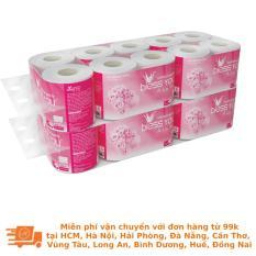Bộ 2 lốc giấy vệ sinh Bless You Alavie 2 (10 cuộn)