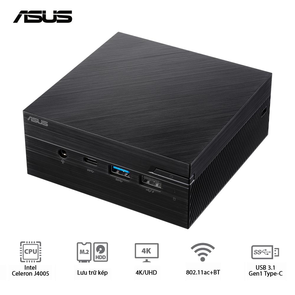 Mini PC ASUS PN40-BBC680MV (Intel Celeron J4025/ 4G RAM/ 240G SSD/ Intel 802.11ac + Bluetooth/ 3 Years Warranty)