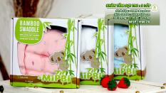 Khăn tắm cao cấp Mipbi 3 lớp 100% sợi tre mềm mại, kháng khuẩn nhiều kích cỡ
